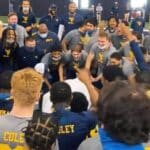 WATCH: Mountaineers Play Musical Chairs With Country Roads