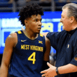 Miles McBride Goes Off With Bob Huggins in Attendance