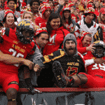 Maryland Student Section Over Capacity for Today's Game Against WVU