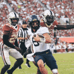 West Virginia Nearly Upsets #3 Oklahoma in Norman